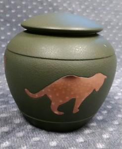 Compassionate Pet Cremation Henderson & Las Vegas NV - Cat Silhouette urn Fern