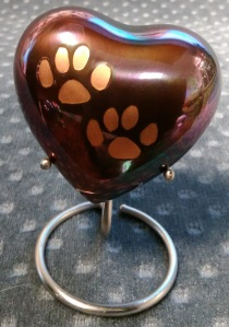 Compassionate Pet Cremation Henderson & Las Vegas NV - Odyssey Small Heart Copper 0 - 10