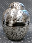 Compassionate Pet Cremation Henderson & Las Vegas NV - Silver Embossed Small 0 -35 Meduim 35 - 60
